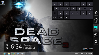 Dead Space 3 Desktop Theme