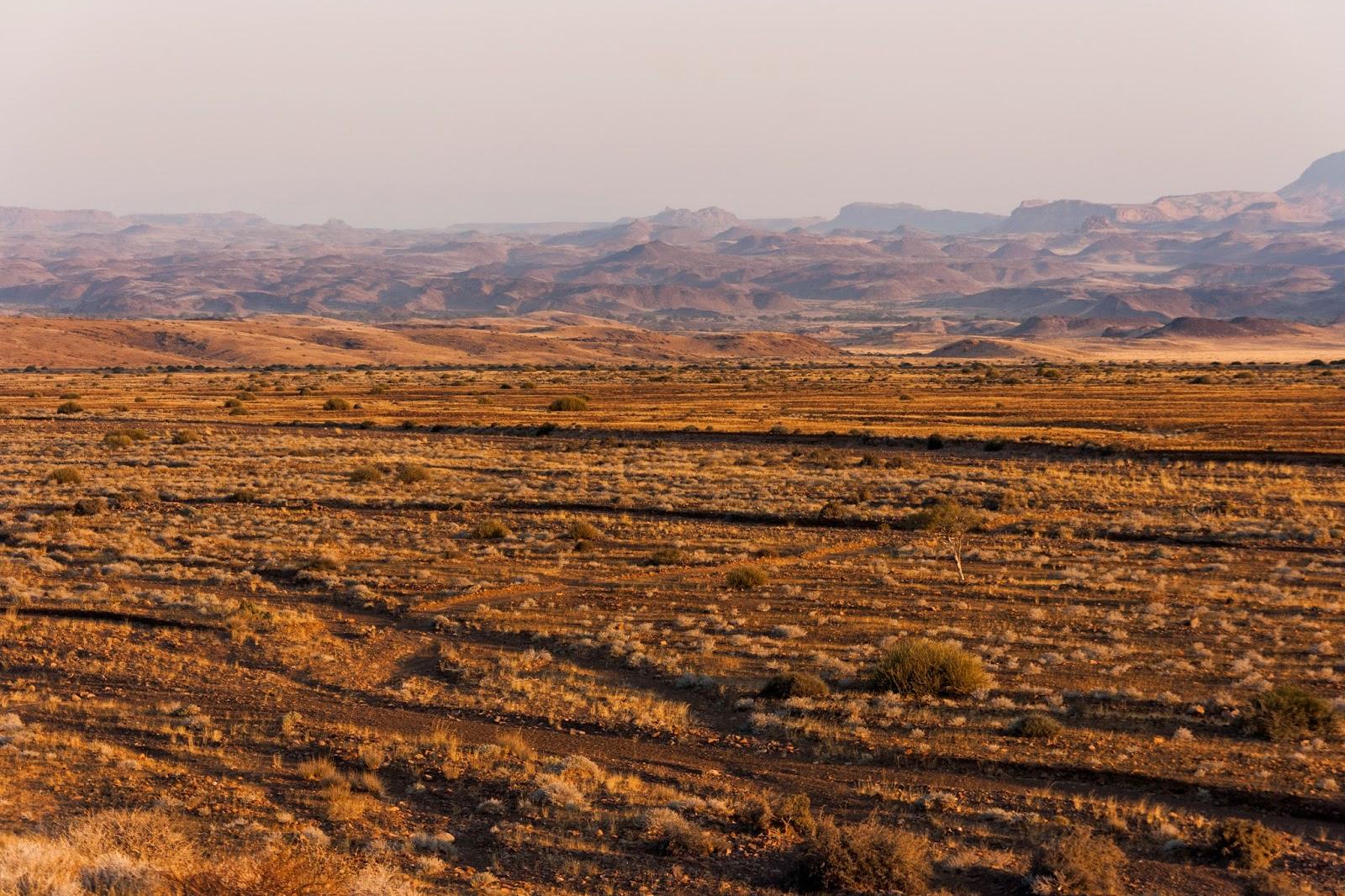 tributary river damaralnd namibia