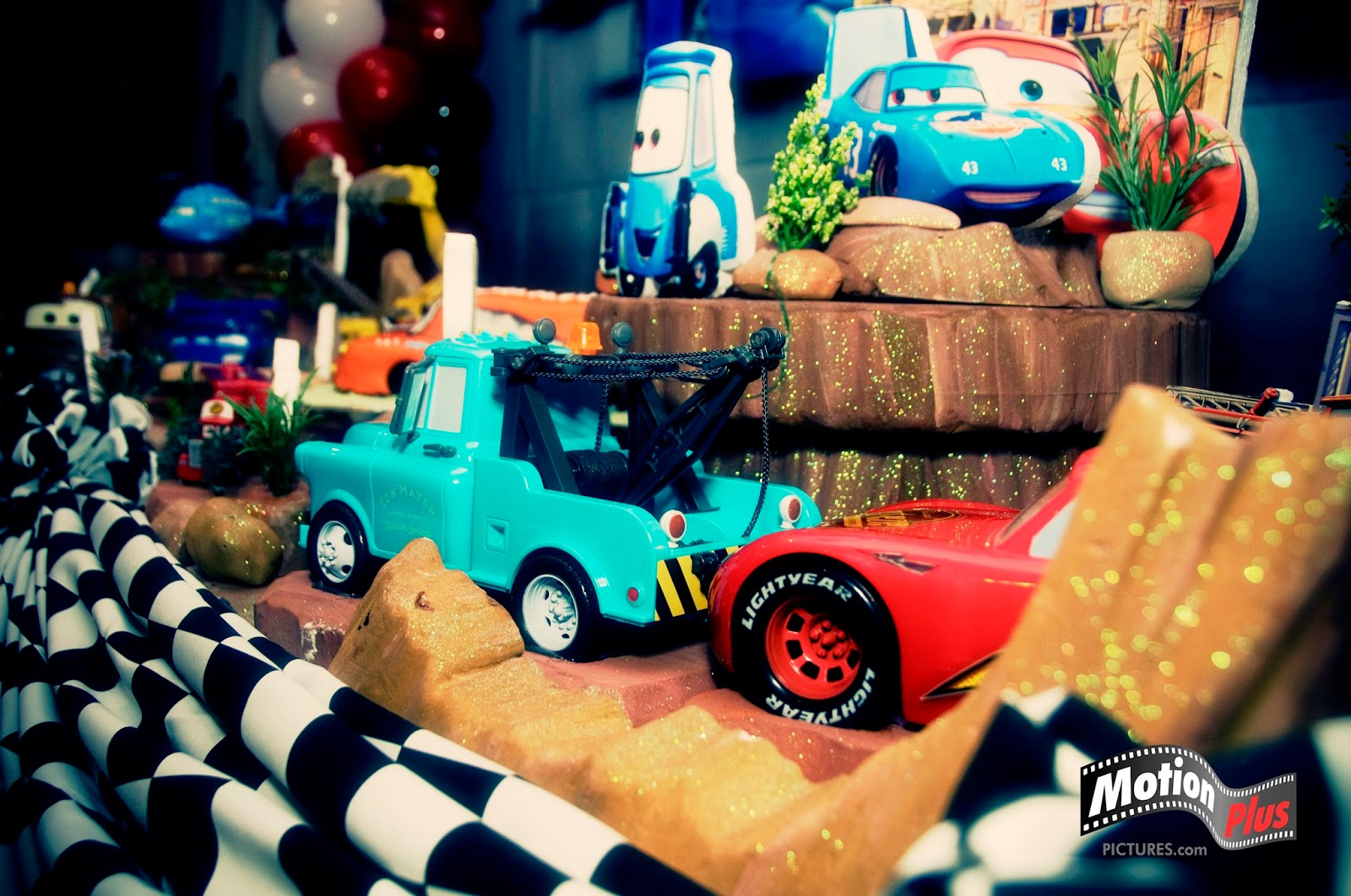 Cars Table Decorations Motion Plus Pictures Cars Themed Birthday Party Ideas