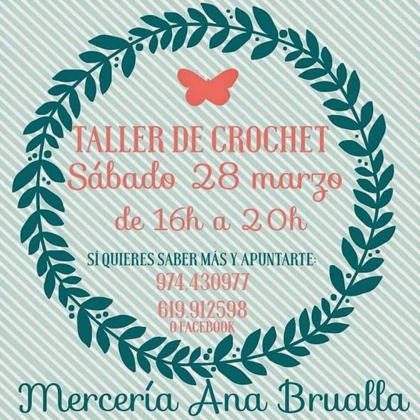 Taller Crochet Binefar Huesca