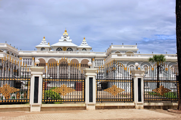 Presidential Palace in Vientiane