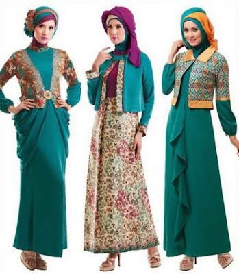 Model Baju Gamis Muslimah Terbaru Paling Ngetrend Saat Ini