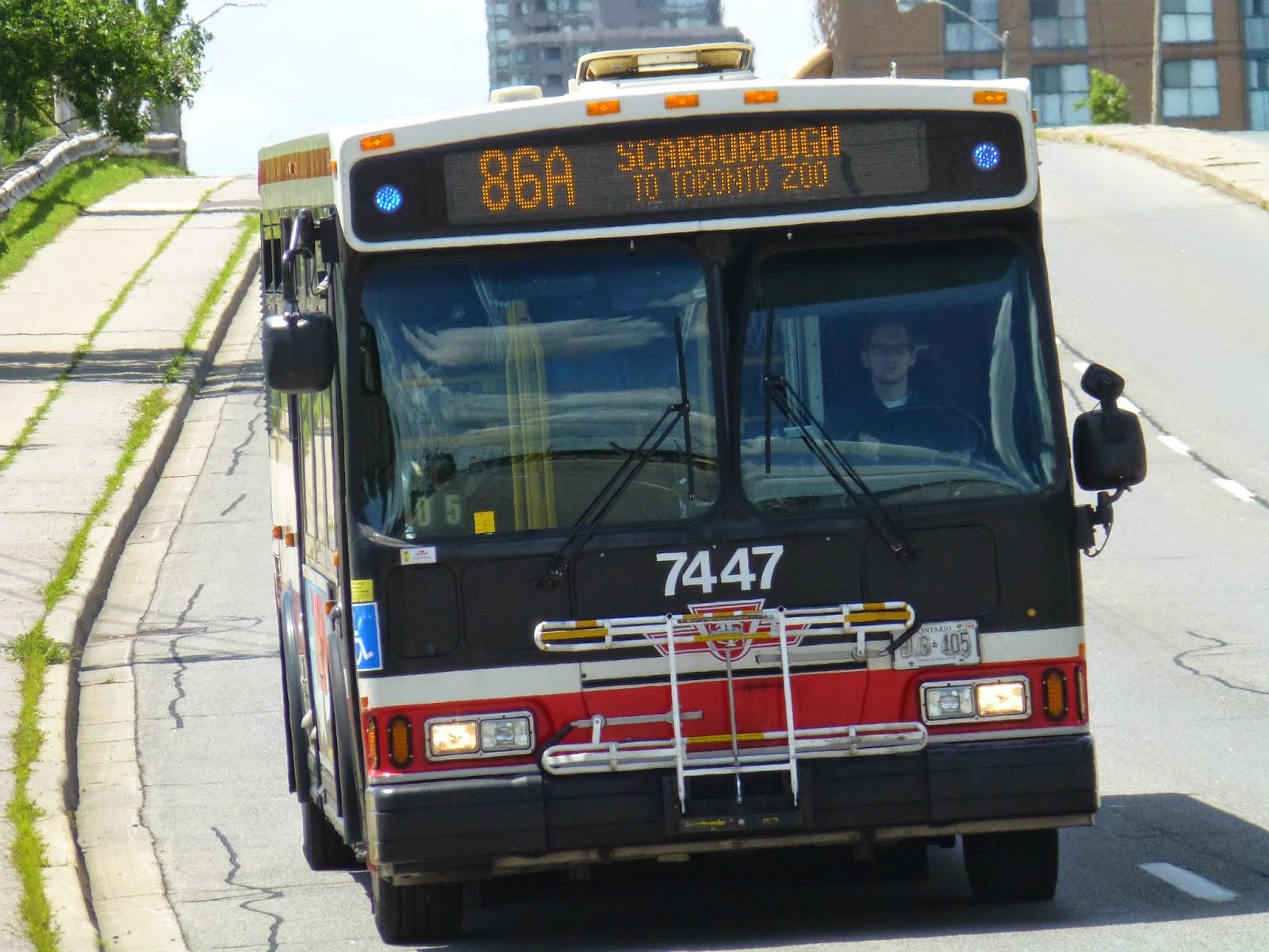 Miles on the MBTA: Service Change: Toronto, Part 6