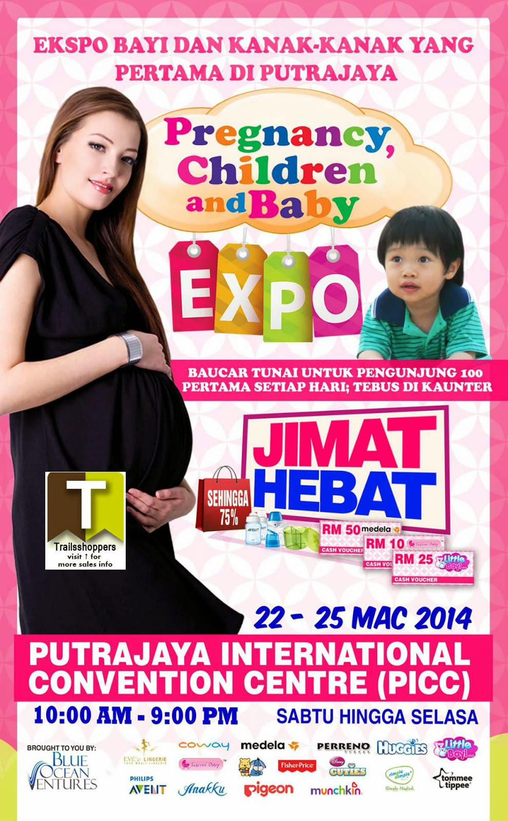 Pregnancy, Children & Baby Expo Putrajaya 2014 International Convention Centre PICC
