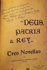 Três Novelas - Deus - Pátria e Rei - 1922