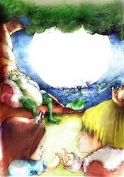 Ilustração do Dane D'Angeli.