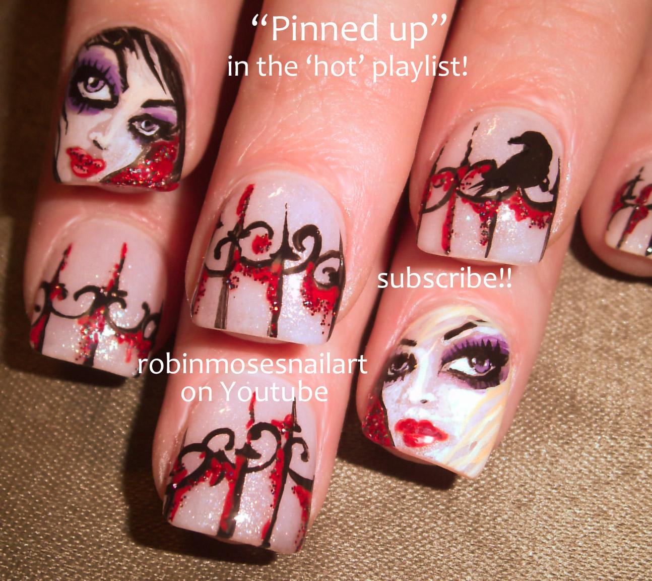 Girls Nail Art New Dizains