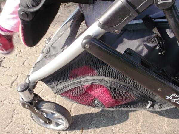 Wózek Britax B-dual spacerówka i drugie siedzisko z miękką gondolą. Rok po roku. kosz na zakupy