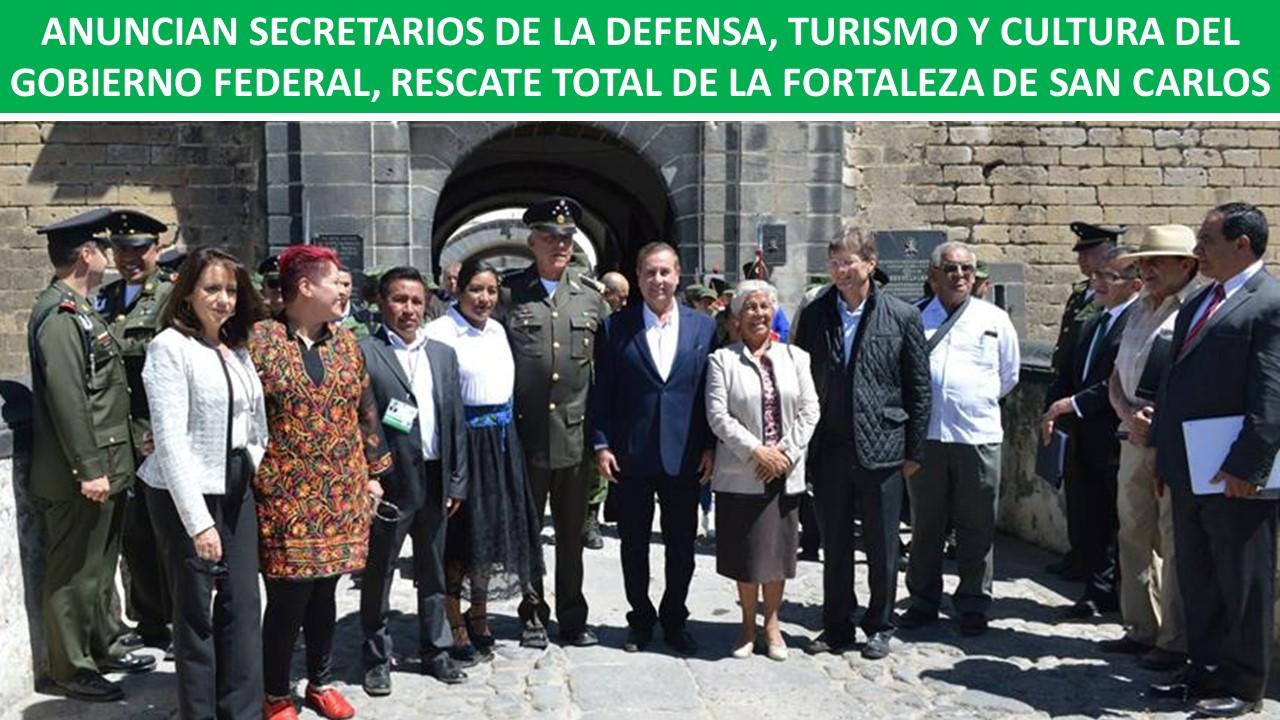 RESCATE TOTAL DE LA FORTALEZA DE SAN CARLOS