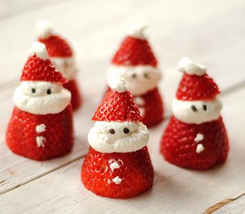 A different type of art christmas cook art - Ideas para comida de navidad ...