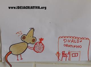 Releitura do Livro O Ratinho, o Morango Vermelho Maduro e o Grande Urso Esfomeado