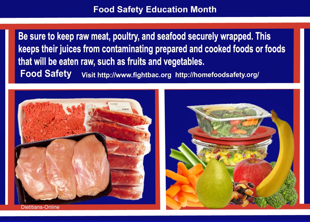 national food safety education dont cross contamination