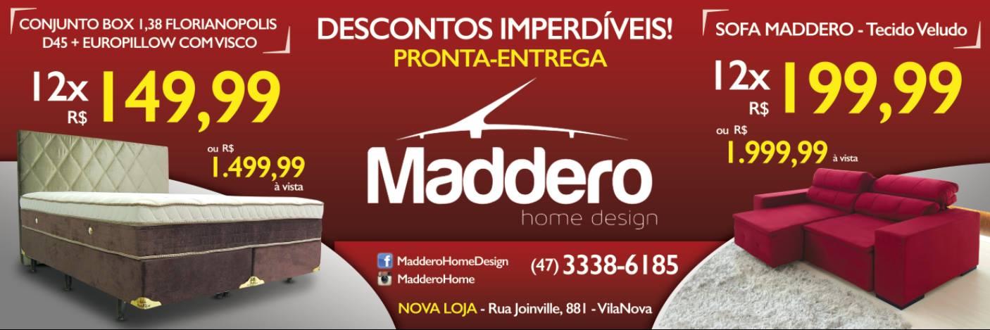 MADDERO Home Design - Desconto Imperdíveis.