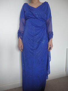 Maxi Dress After Alterations