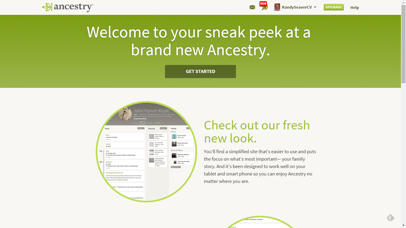 how to create a copy of a tree in ancestry