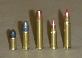 Rimfire Modern Cartridges Chart