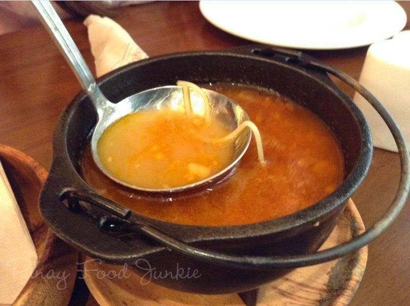 Sipping Boqueria Sopa De Cocido
