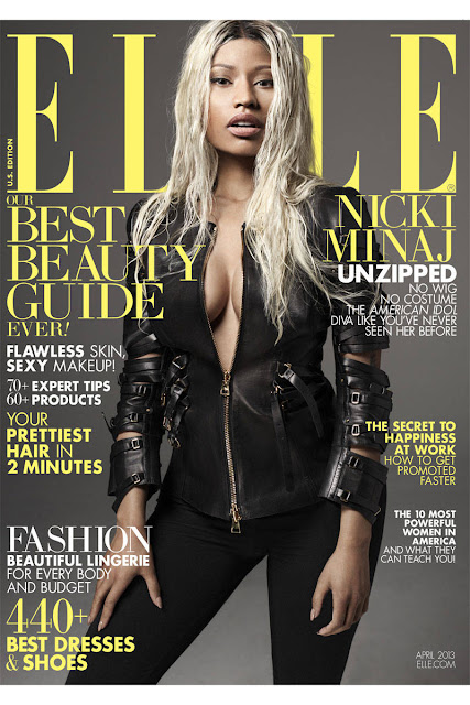 Nicki Minaj elle shoot