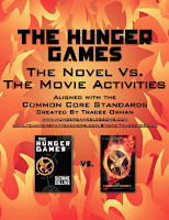 The Hunger Games Novel vs. the Movie Teaching Pack