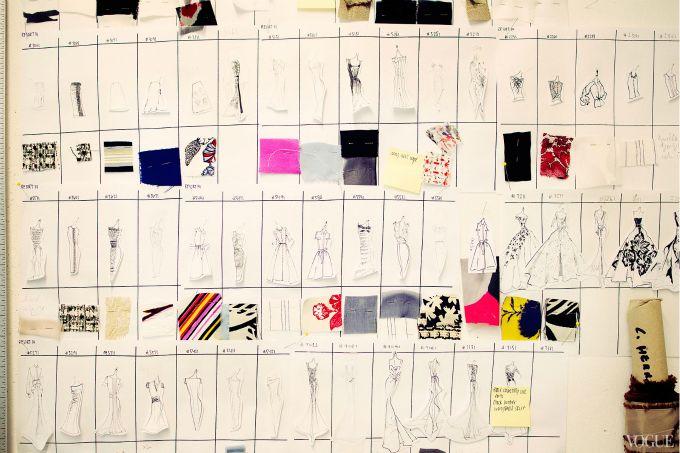 Inside Carolina Herrera's Manhattan Atelier