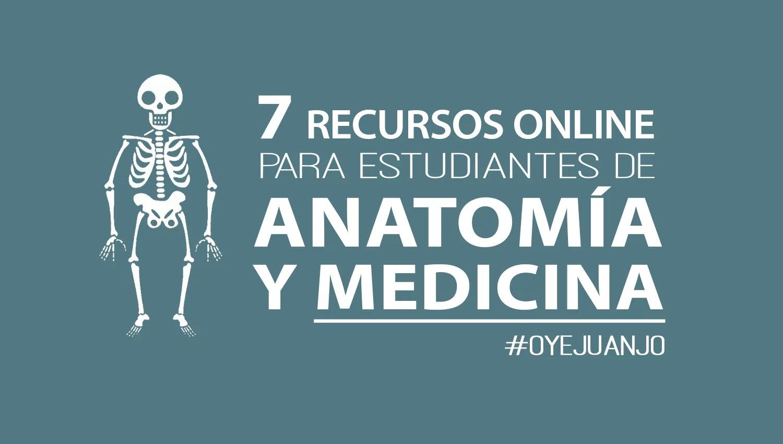 7 páginas educativas para estudiantes de Medicina y Anatomía
