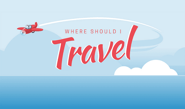 where should i travel to next infographic visualistan
