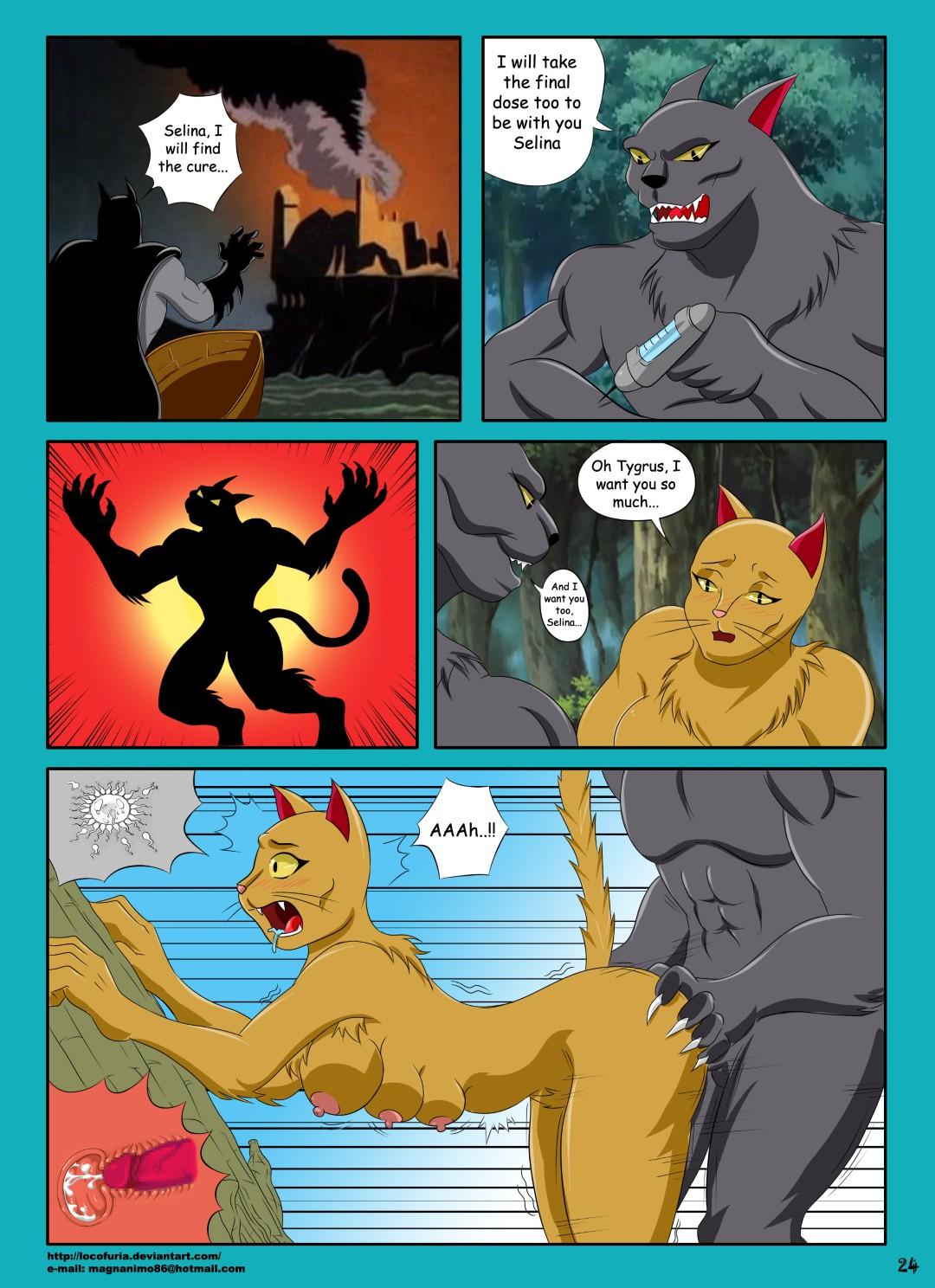 комикс cat woman