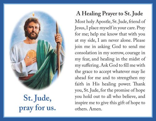Catholic news world share novena to st jude thaddeus apostle share novena to st jude thaddeus apostle patron of impossible prayer miracles thecheapjerseys Choice Image