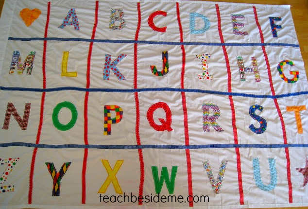 alphabet mat