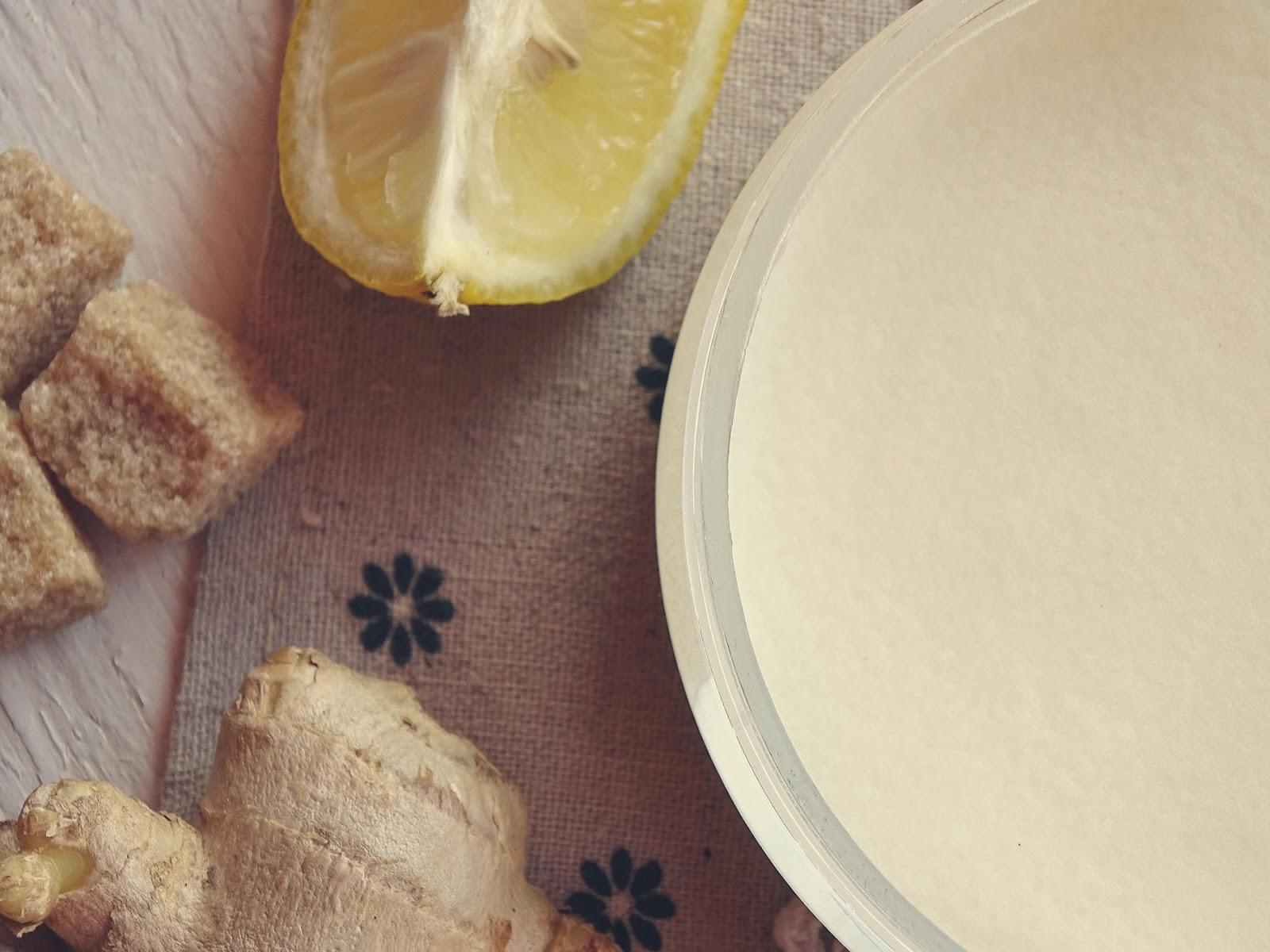 imbirowe masło do ciała