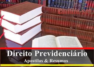 direito previdenciario pdf 2013 apostila resumo