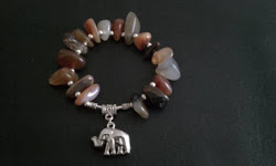 "Closeup of ""Kiera's"" Modesty Charm Bracelet - Groupon Class Customer  2/19/2011"
