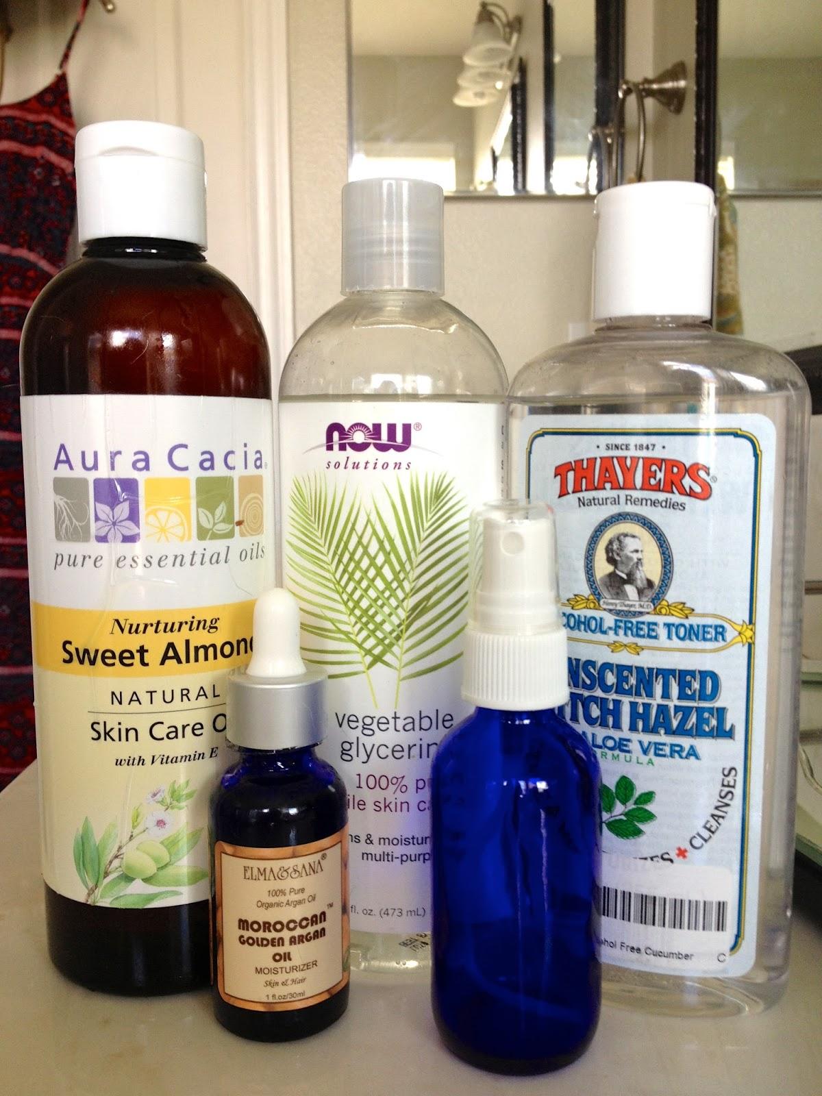 Ingredients for DIY Man Skin and Beard Care. DIY Beard Moisturizer