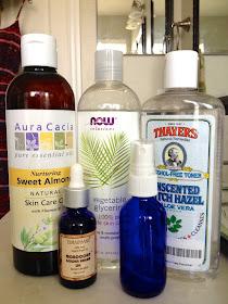 Ingredients for DIY Man Skin and Beard Care
