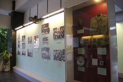 Inside the museum of the vestiges of the Vietnam War