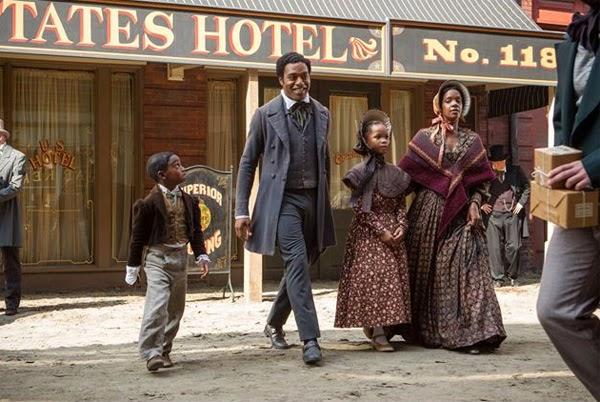 """Chiwetel Ejiofor en """"Doce años de Esclavitud"""""""