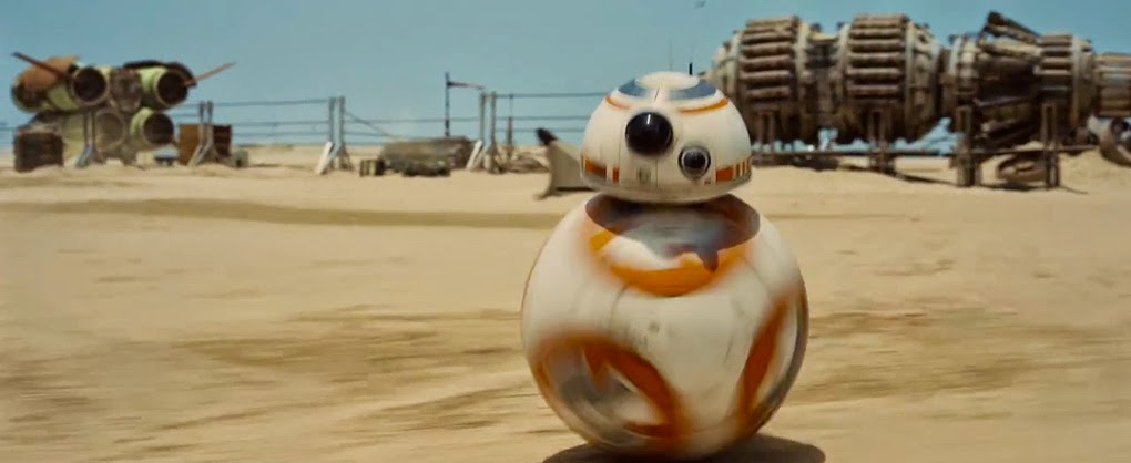 BB-8 robot force awakens