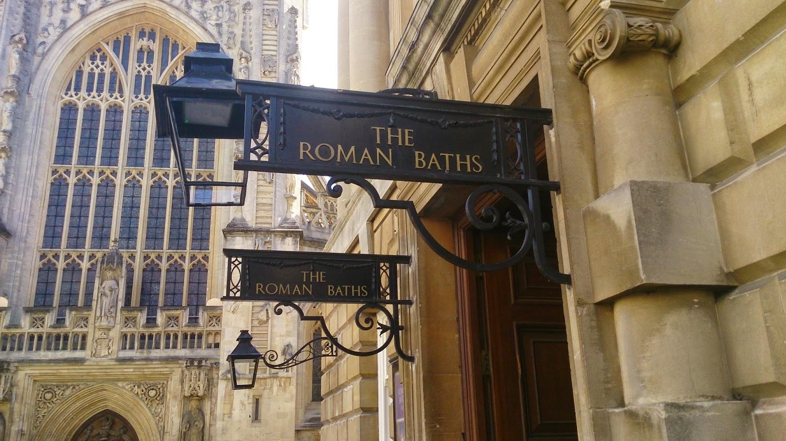 英國 單車 足球 聚舊之旅 Roman Bath