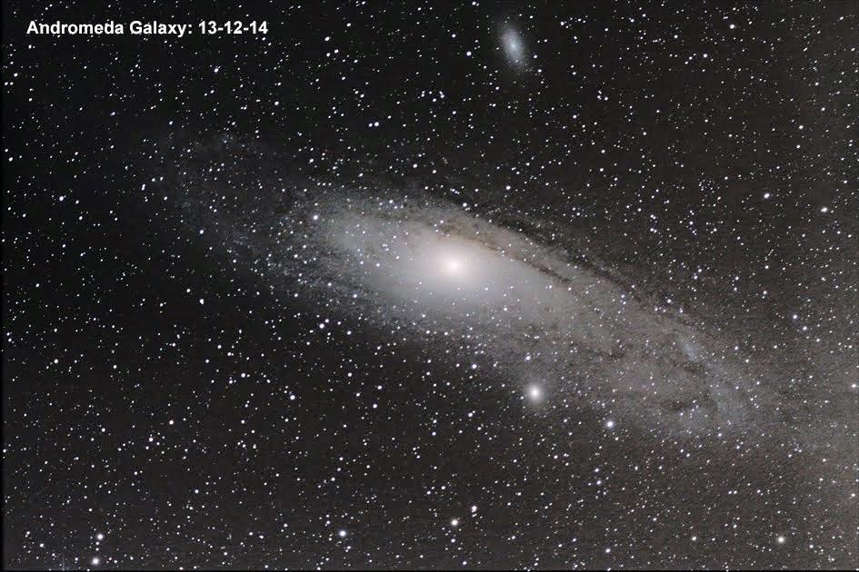 December 13, 2014. The Andromeda Galaxy
