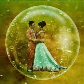 membuat objek di dalam gelembung dengan photoshop