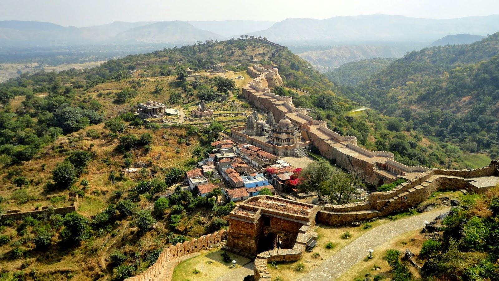 Kumbhalgarh India  City new picture : Documentalium: Kumbhalgarh Wall, la Gran Muralla India