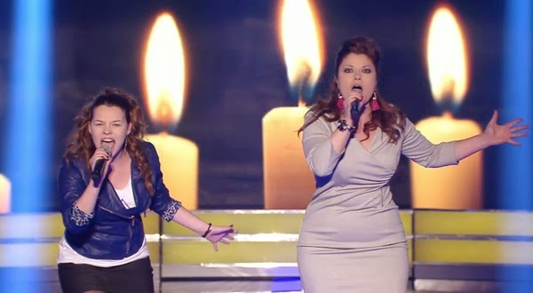 Michelle y Amariah cantan Chandelier-Levántate