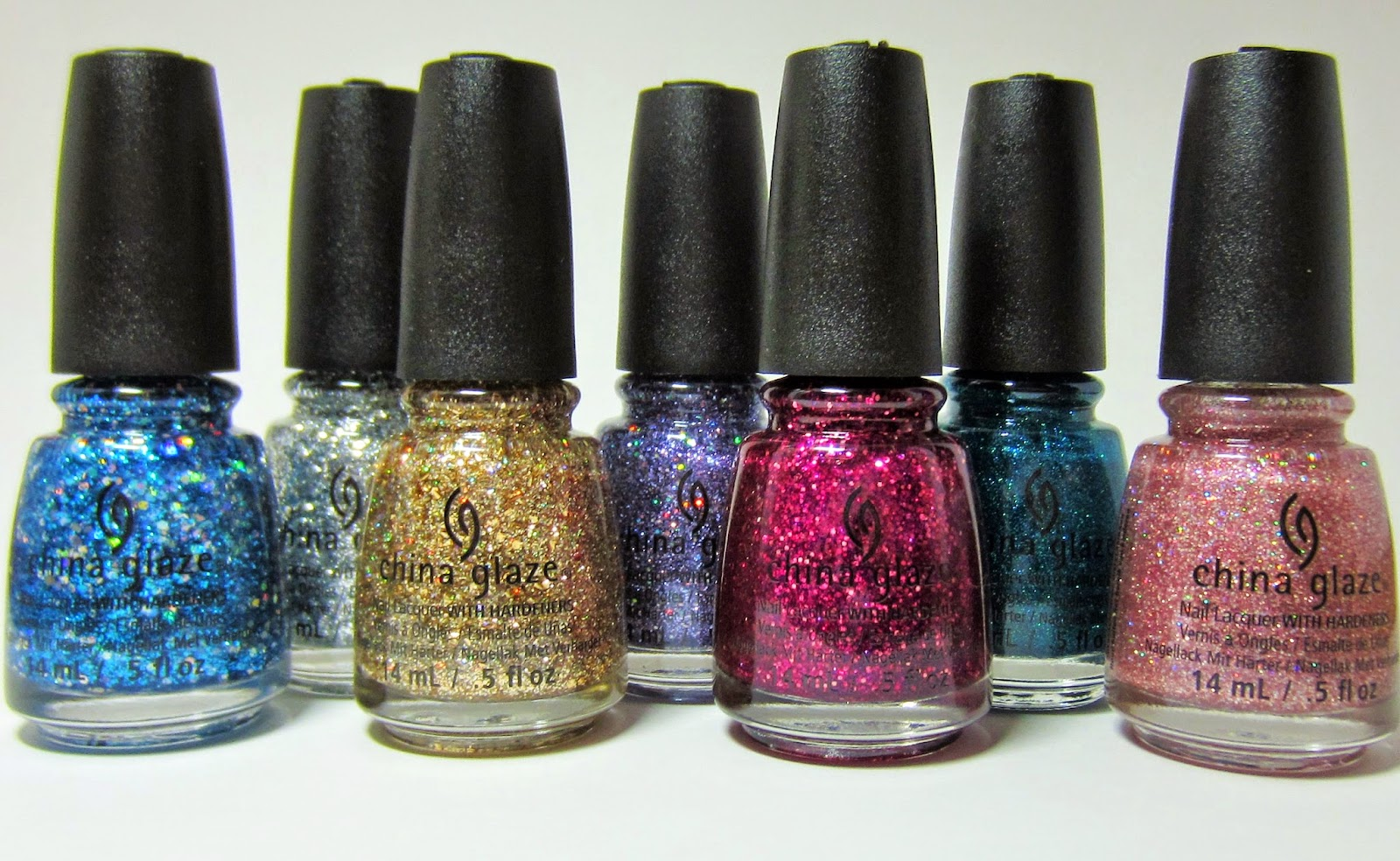 b3151eae5f4 Polished with Pizzazz   NEW  China Glaze Glitter Polishes