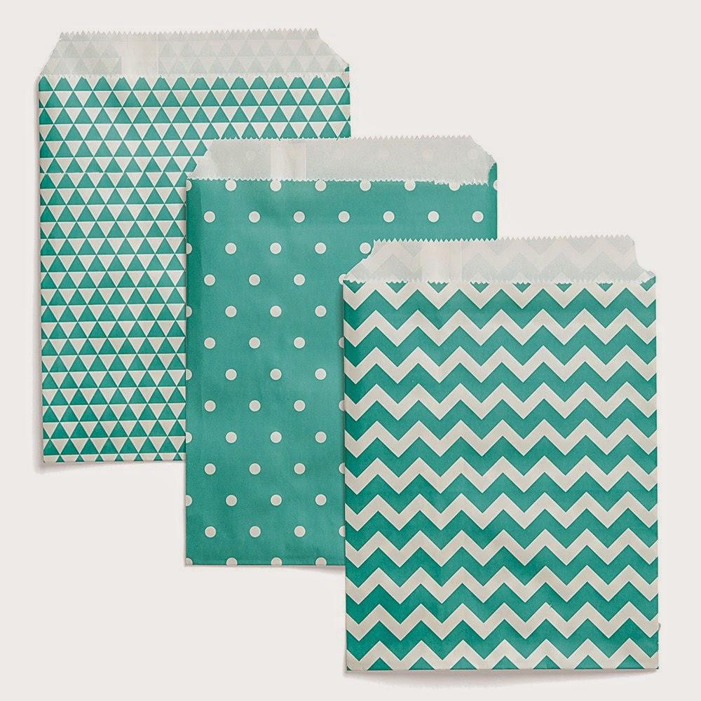 Designer Creations Lagoon Paper Bags  Item Number: Z2037