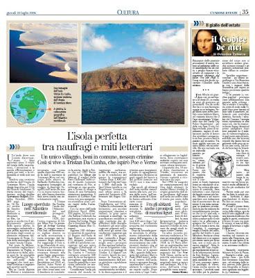 Tristan Da Cunha Unione Sarda Andrea Mameli 2008