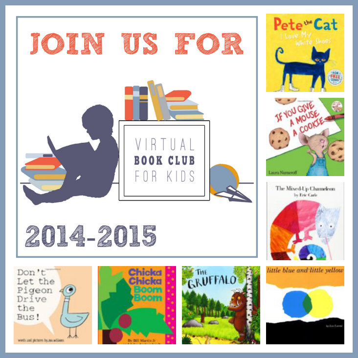 Join us for the 2014-2015 Virtual Book Club for Kids