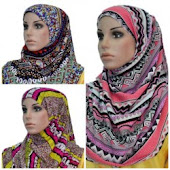 Shawl Cotton Corak Tribal