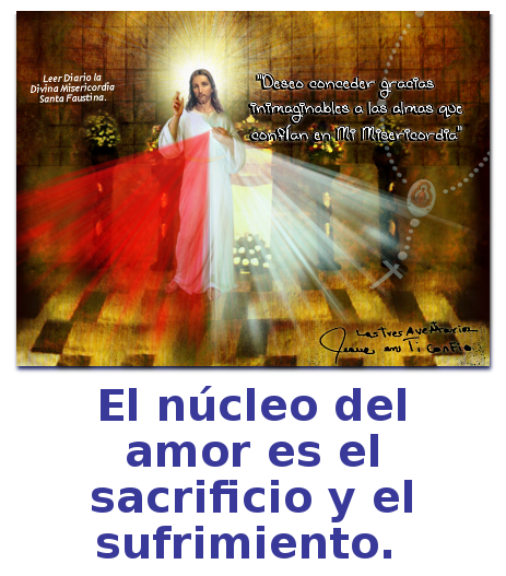 el nucleo del amor divina misericordia