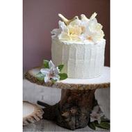 DIY Soporte tarta rústico