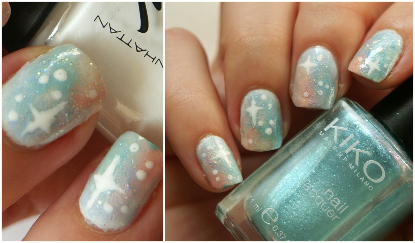 Pastel Galaxy Nails + frischlackiertchallenge | Polished Casual